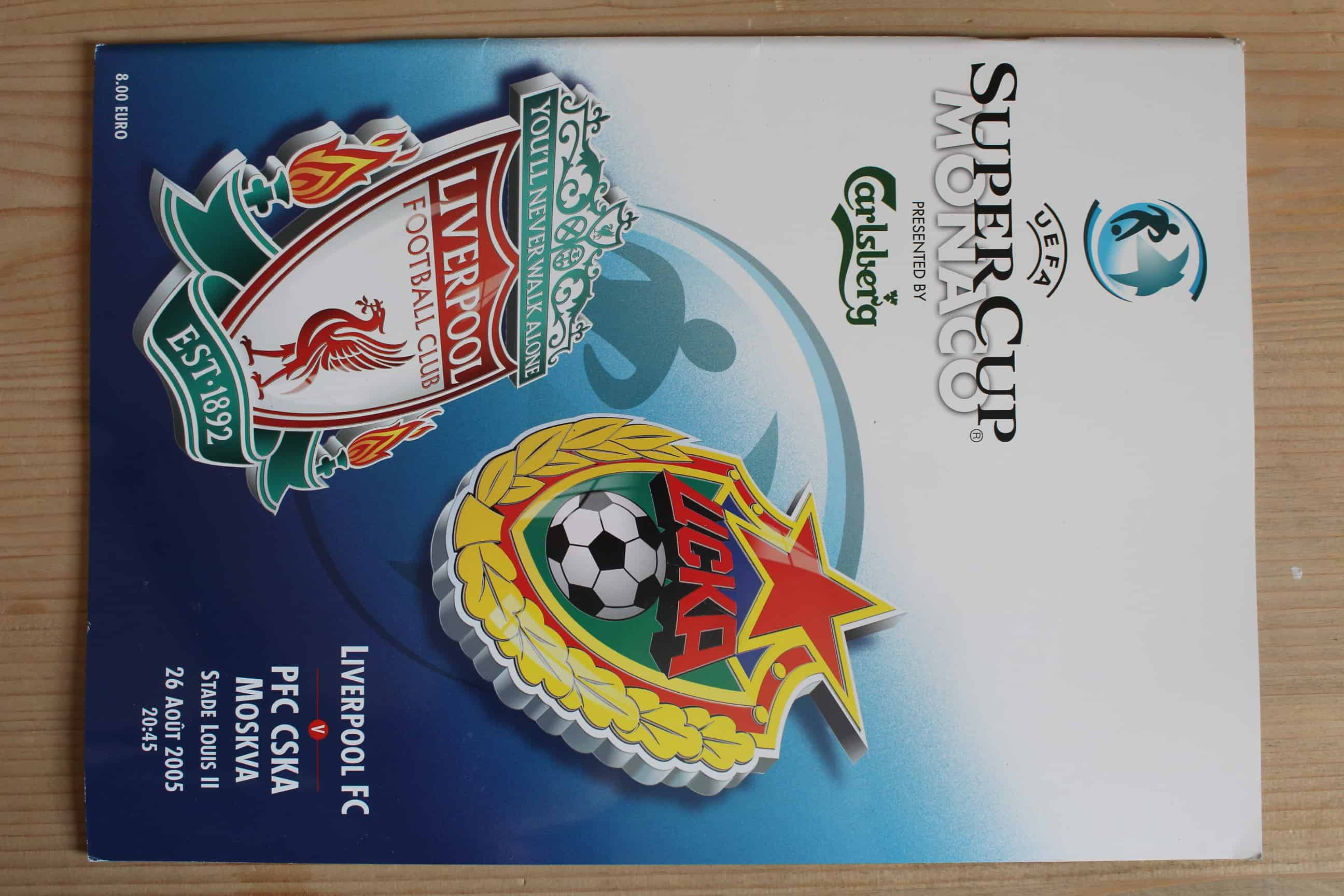 Liverpool FC v C.S.K.A Moscow