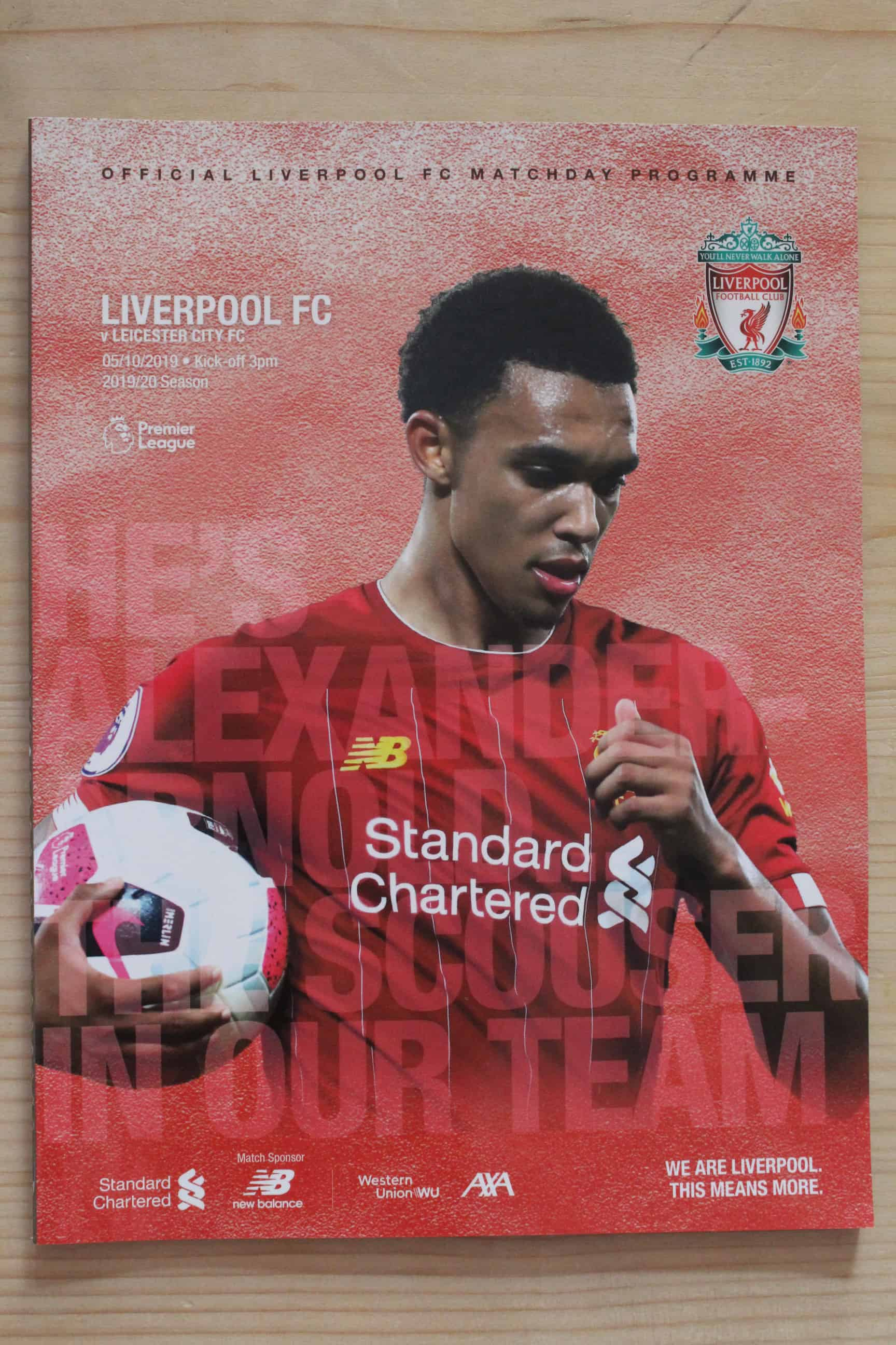 Liverpool FC v Leicester City FC