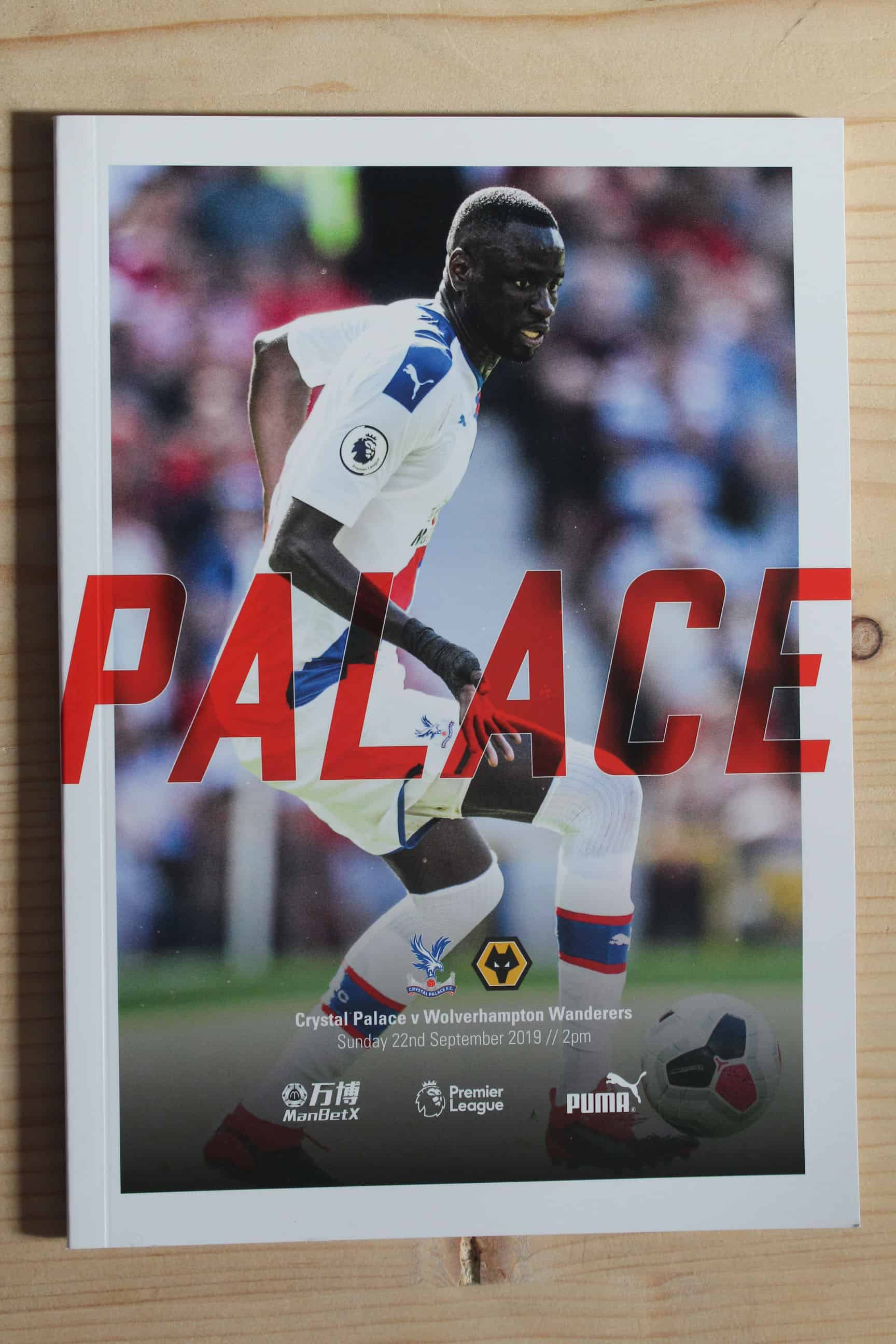 Crystal Palace FC v Wolverhampton Wanderers FC